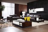 Sofá secional do couro elegante moderno novo da sala de visitas do projeto 2016 (HC8116)