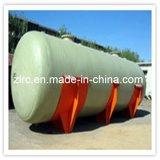 El tanque caliente de la transmisión horizontal de la fibra de vidrio del tanque de agua de la venta GRP