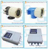 Contador de flujo electromágnetico inteligente para las aguas residuales