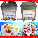 Thailand-Fischrogen-Eiscreme-Rolle, die gebratene Eiscreme-Maschine herstellt
