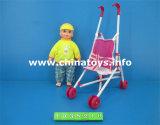 2016 New Plastic Novelty Trolley Baby Doll Toy Car (1038210)