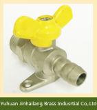 Venta caliente de latón Pequeño caldera Válvula de bola con el casquillo y la cadena