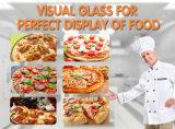 Máquina del calentador de la pizza del caso de visualización de la pizza de la visualización del contador de la pizza