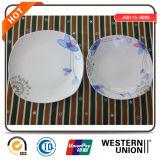 conjunto de cerámica de la cocina de la dimensión de una variable cuadrada 12PCS