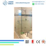 Balanço desobstruído gravura em àgua forte do cetim que desliza a porta do chuveiro do vidro Tempered de Frameless