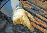 Перчатка работы безопасности запястья руки Knit латекса 3/4 вкладыша Джерси покрынная (L1713)