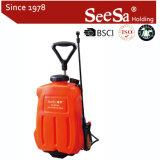 Спрейер электрической батареи силы трейлера Backpack 16L Ce Seesa Shixia Approved пластичный аграрный (SX-MD20E)