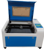 Acrílico tecido de couro Máquina de Papelão Gravura de madeira 4060 Laser Engraving