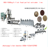 600kg / Máquina H Fish Food Pellet Extrusora