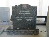 販売の墓のための花こう岩の墓地のわきの記念額のつぼの石の墓石