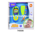 Instrument de musique réglé de jouet électrique en plastique de bébé réglé (745503)