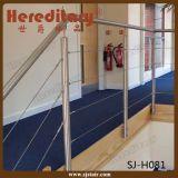 Balaustrada do aço inoxidável/trilhos do cabo para a escada e o balcão (SJ-X1042)
