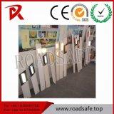 Dessinateur r3fléchissant de route de poste de dessinateur de circulation blanche de fléau de PVC
