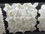 Мозаика Calacatta мраморный, шевронная мозаика формы, шевронная плитка мозаики