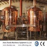 10bbl赤いたる製造人のビール醸造所装置