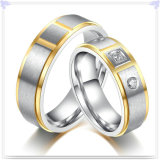 Anillo de dedo de la joyería del acero inoxidable de la manera de la joyería (SR588)