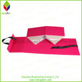 Paper promozionale Packaging Rigid Folding Box con Ribbon