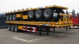 CIMC de containeroplegger van het 3 assen vlakke bed