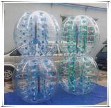 El color auténtico de la calidad puntea el balompié inflable de la burbuja de la fábrica de Guangzhou