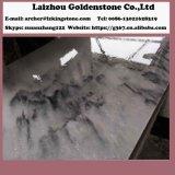 Polished серый мраморный сляб кроет пасмурные серые плитки черепицей Китай мрамора