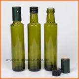 250ml, 500ml, 750ml, rundes Olivenöl 1000ml, das Glasflaschen mit bernsteinfarbiger grüner freier Farbe kocht