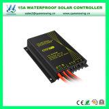15A impermeabilizan el regulador solar de la luz de calle del programa piloto incorporado (QW-SR-DH100-LI)