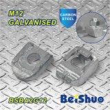 M12 잠그개 고침 놀이쇠에 의하여 직류 전기를 통하는 가단성 Ironked 광속 죔쇠 Ba1g12