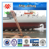 Lieferung, die aufblasbaren Marineheizschlauch anhebt und startet
