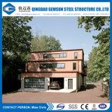 BVによって確認される贅沢で軽い鉄骨構造のプレハブの家かホーム