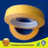Cinta adhesiva amarilla da alta temperatura de Washi de la resistencia ULTRAVIOLETA