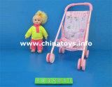 2016 새로운 플라스틱 참신 트롤리 아기 - 인형 장난감 차 (1038210)
