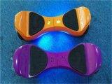 Scooter électrique d'équilibre futé d'individu de roue du jaune deux de la qualité 4.5inch avec la LED pour des enfants