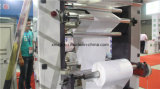 4 colore High Speed Flexographic Printing Machine per Non Woven con Ceramic Anilox