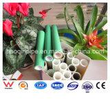 tubo verde e bianco di 75mm montaggio di PPR e per l'acqua