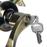 Замок ручки двери замка рукоятки бронзового сплава цинка трубчатый