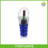 De opnieuw te gebruiken Koelere Zak van de Diepvriezer van het Gel van de Zak van de Wijn Koelere Plastic