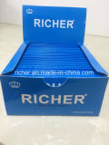 Tamaño extra pegajosa Mini Slim premium ultra delgada de la multa del 100% Natural Árabe Gum combustión lenta blanca de papel de fumar