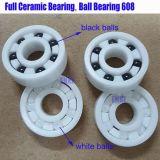 Rodamientos de bolas profundos 608, rodamiento de bolitas de cerámica de NTN 608-2RS del surco del patín de Koyo para los patines