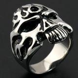 Кольцо черепа металла ювелирных изделий