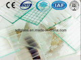Diamante Patterned/Figured/Rolled/Knurling Glass con l'iso del CE (3 - 8mm)