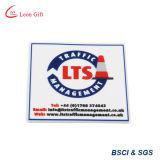 Distintivo poco costoso del PVC di abitudine 3D con la protezione del Velcro (LM1642)