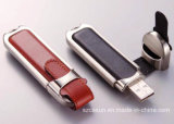 Gift 선전용 Leather USB Drive 1GB에 64GB