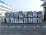 Elevata purezza 99.7% 99.99% lingotti dell'alluminio