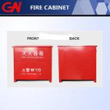 Подгонянный высоким качеством шкаф огнетушителя 4kgx4 для бой пожара