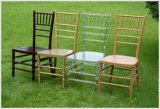 Stackable Wood Chiavari Restaurant Chair с Cushion