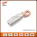 Cosses bimétalliques en aluminium de cuivre du câble Eao-b