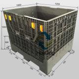 折るプラスチックパレット容器1200X1000X1000mm