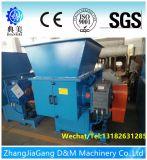 Máquina plástica de la desfibradora de la sola basura del eje para la venta