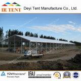 파키스탄에 있는 Deyi 20m Width Temporary Warehouse Tent