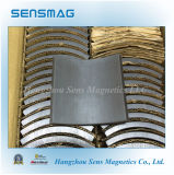 Fest Permanent Ferrite Arc Magnete für Motor
